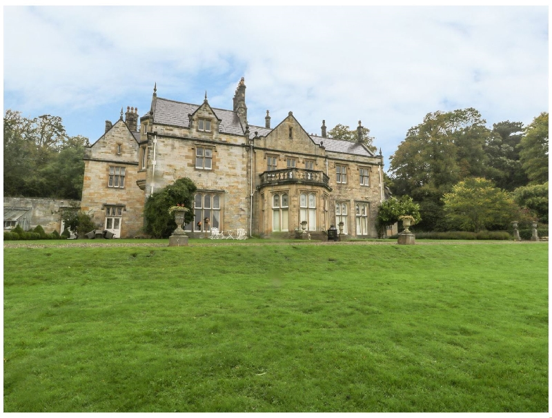 Click here for more about The North Wing at Sandhoe Hall